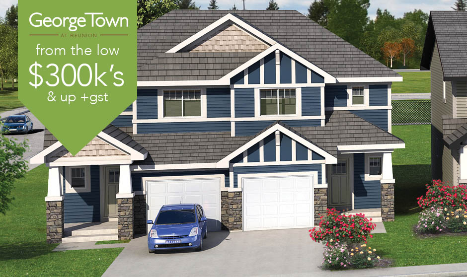 Airdrie townhomes